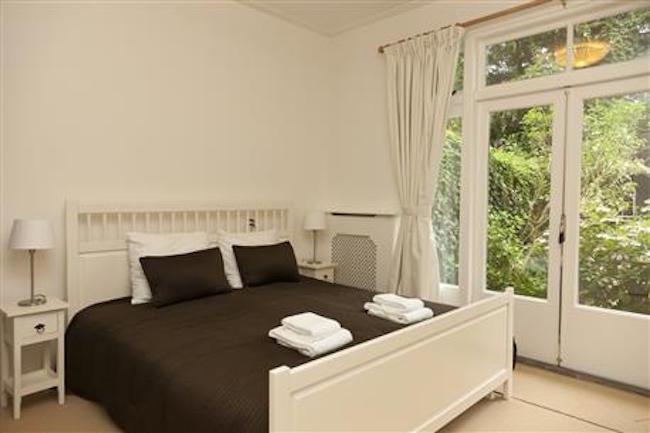Master bedroom at Royal Nassau Apartment