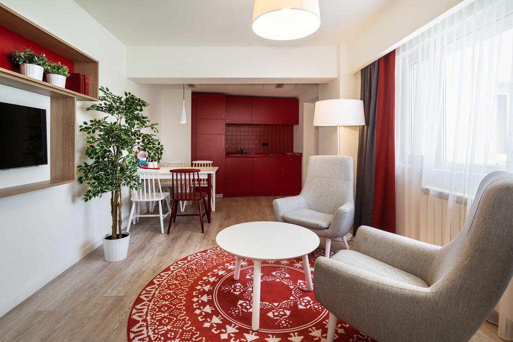 Living room at Park Inn Bucharest Residence