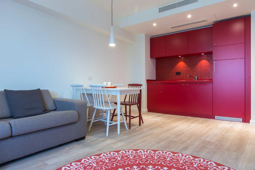 Kitchen at Park Inn Bucharest Residence