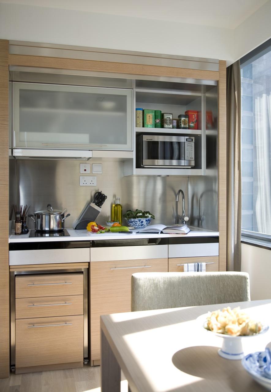 Kitchen at Tsim Sha Tsui Apartments