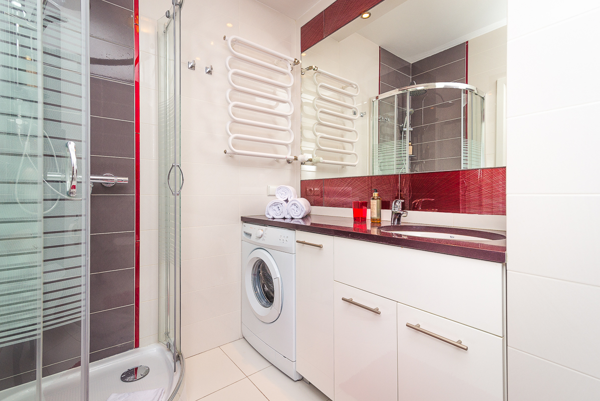 Bathroom at Wronia Serviced Apartments