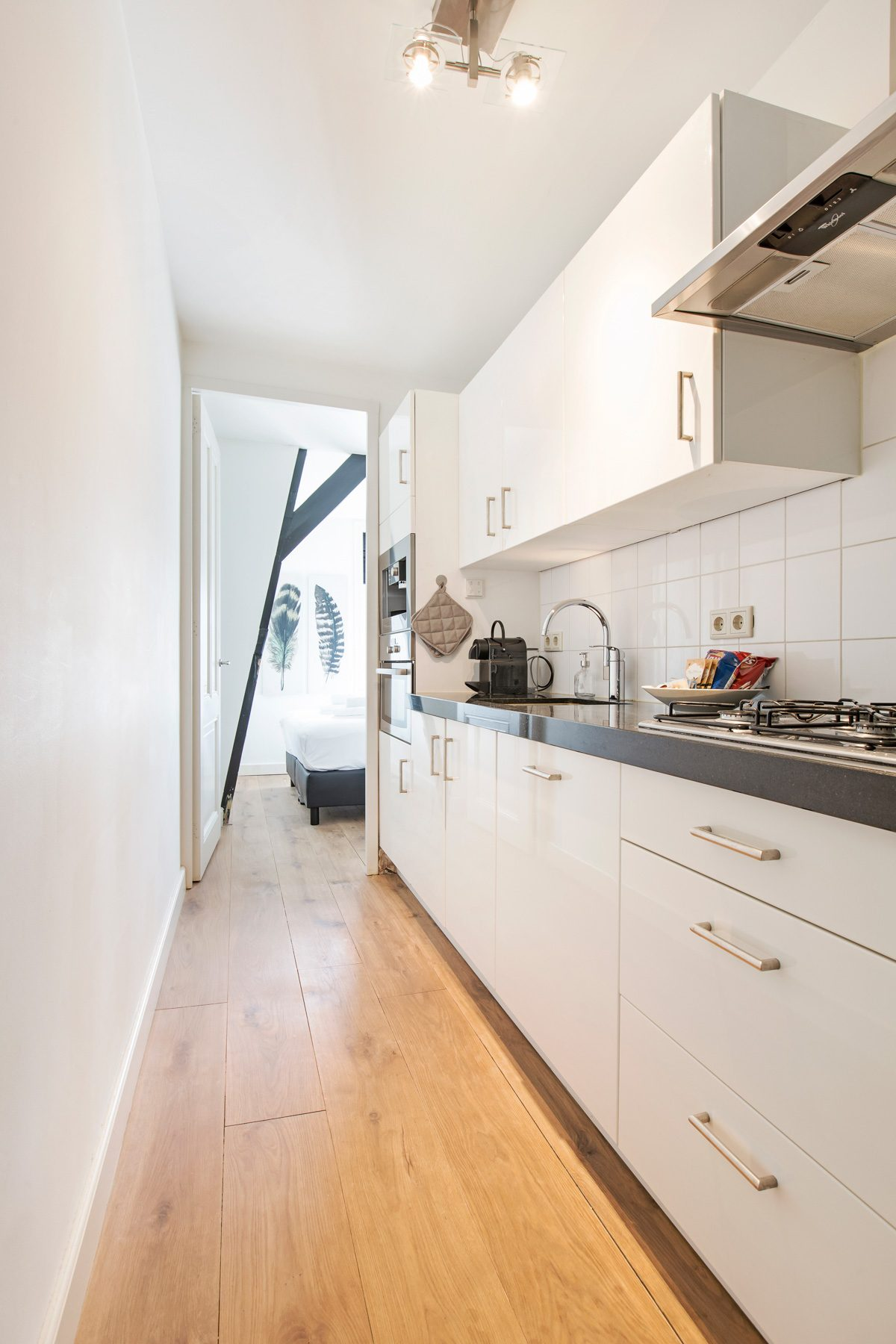Kitchen at Sarphati Apartments, Centre, Amsterdam