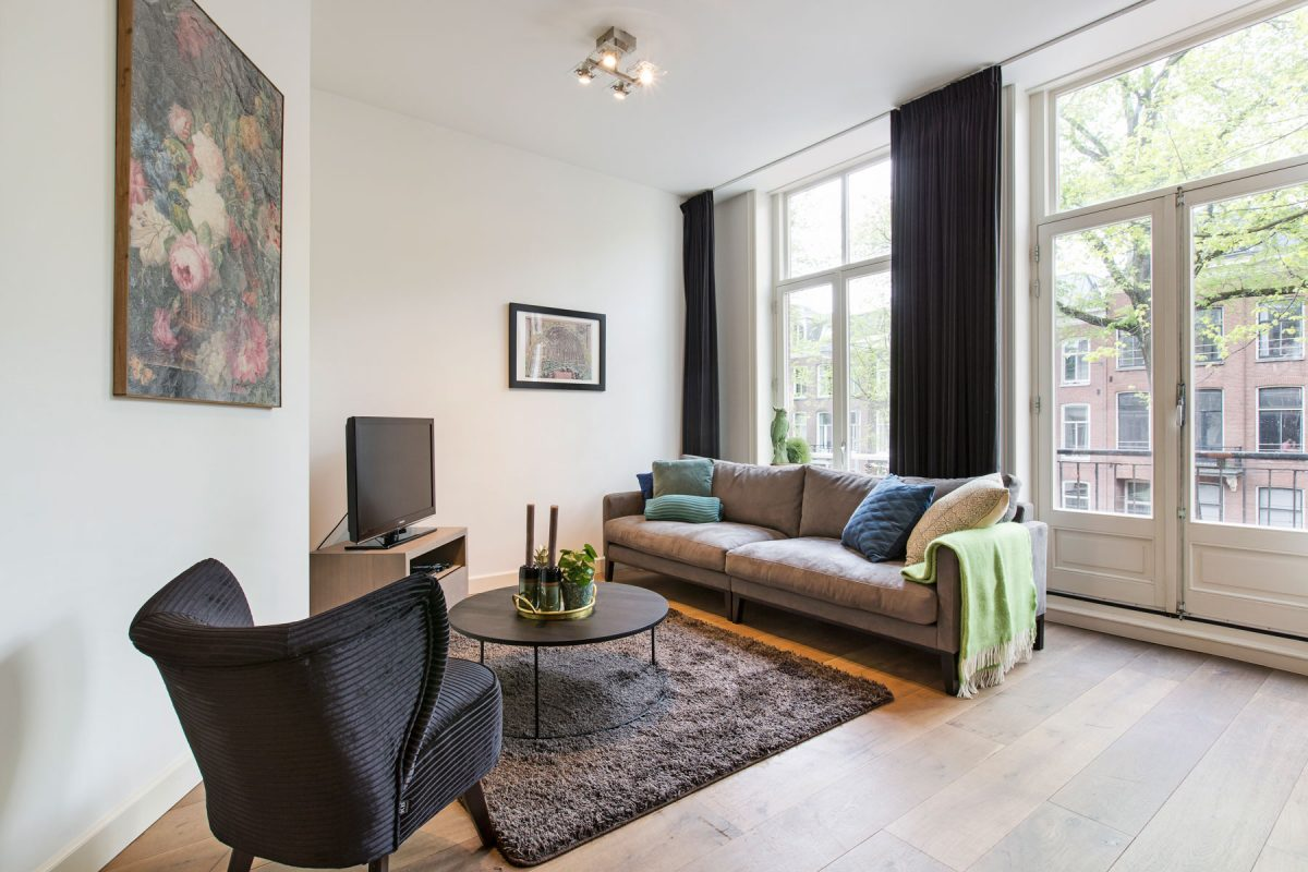Seating area at Sarphati Apartments, Centre, Amsterdam