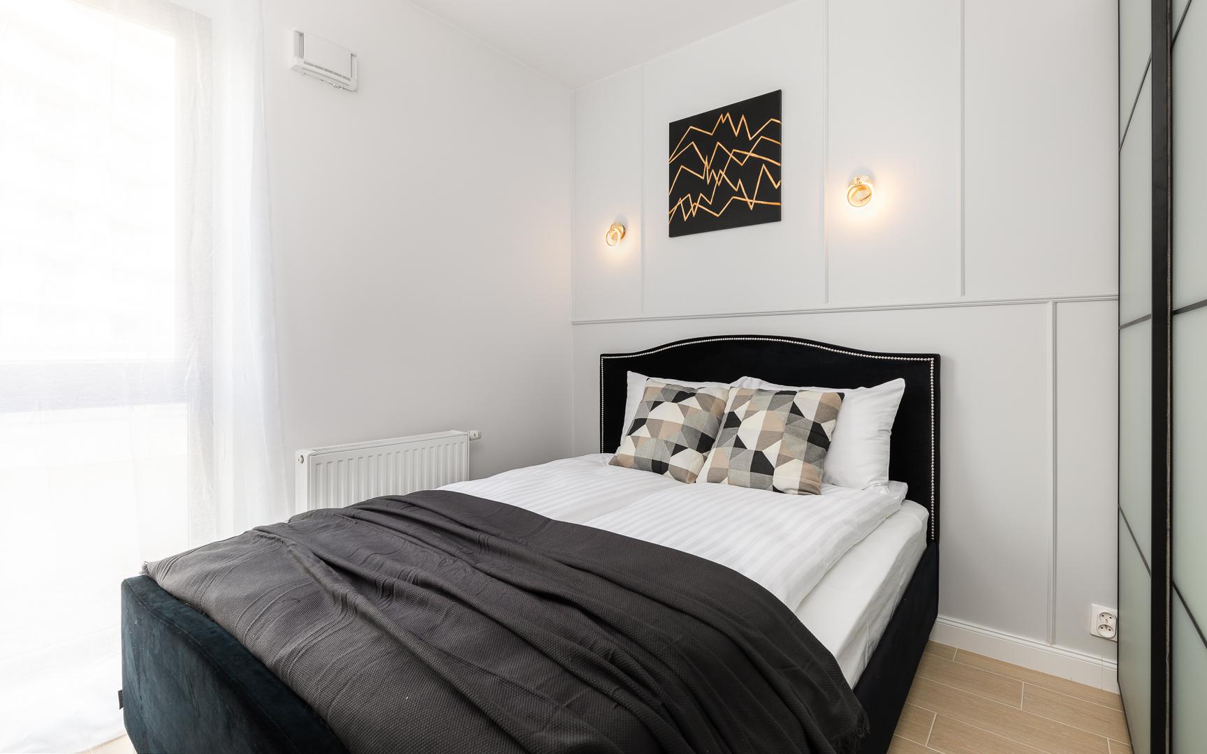 Bedroom at Burakowska Apartments