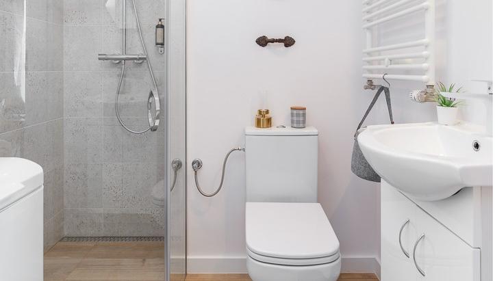 Bathroom at Burakowska Apartments