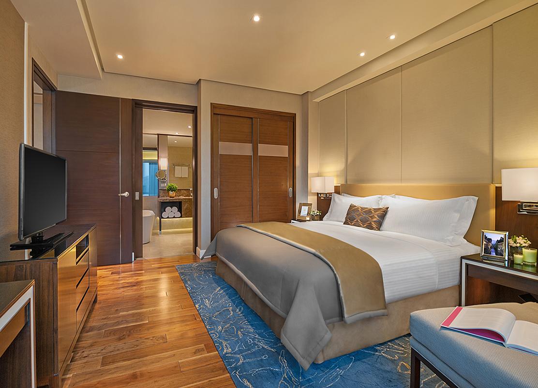 Bedroom at Ascott Bonifacio Global City Apartments