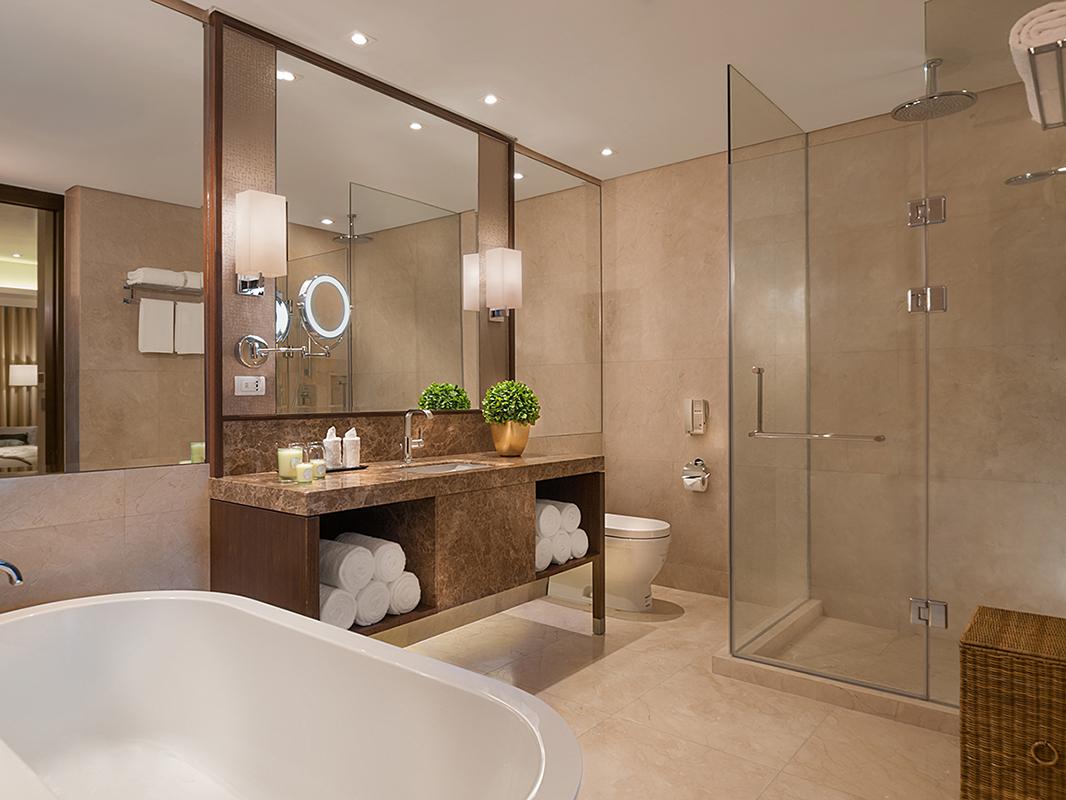Bathroom at Ascott Bonifacio Global City Apartments