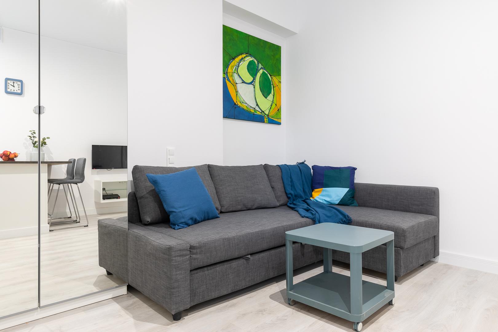 Studio at Wspolna Apartments