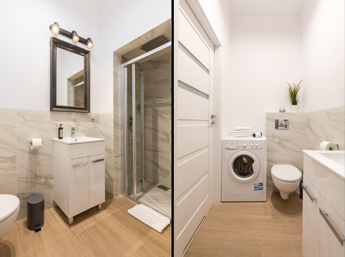 Bathroom at Wspolna Apartments