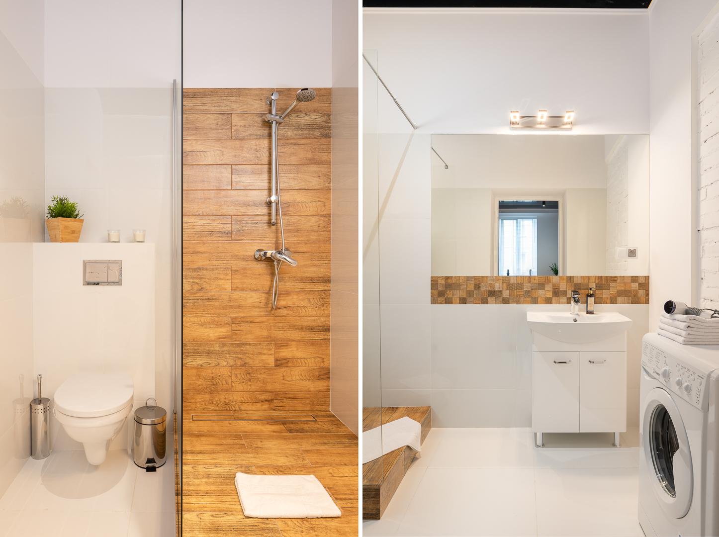 Toilet at Wspolna Apartments