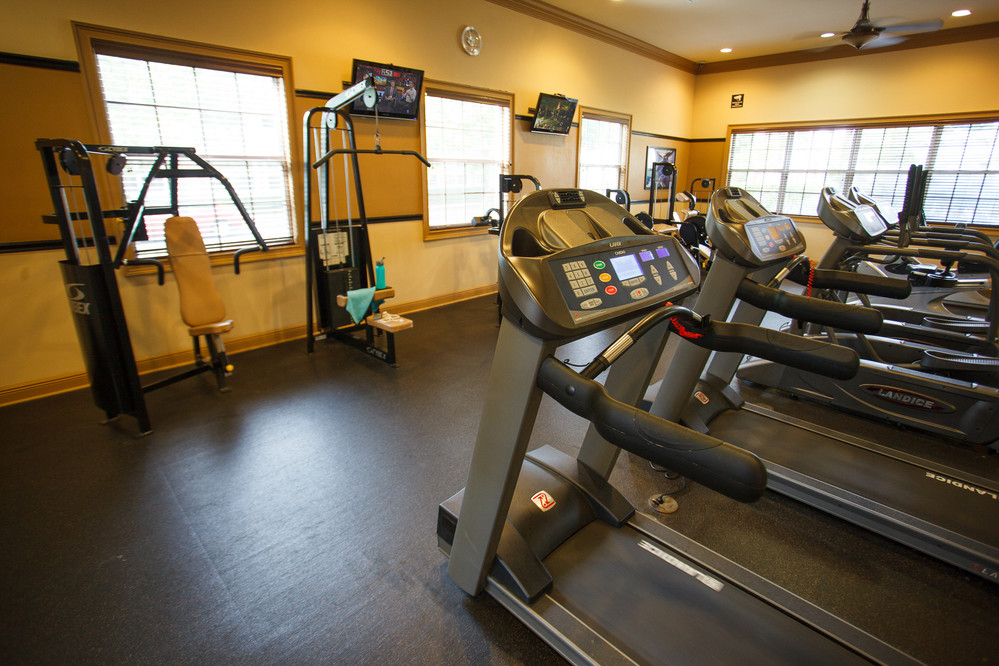 Gym at Gables Montecito Apartment
