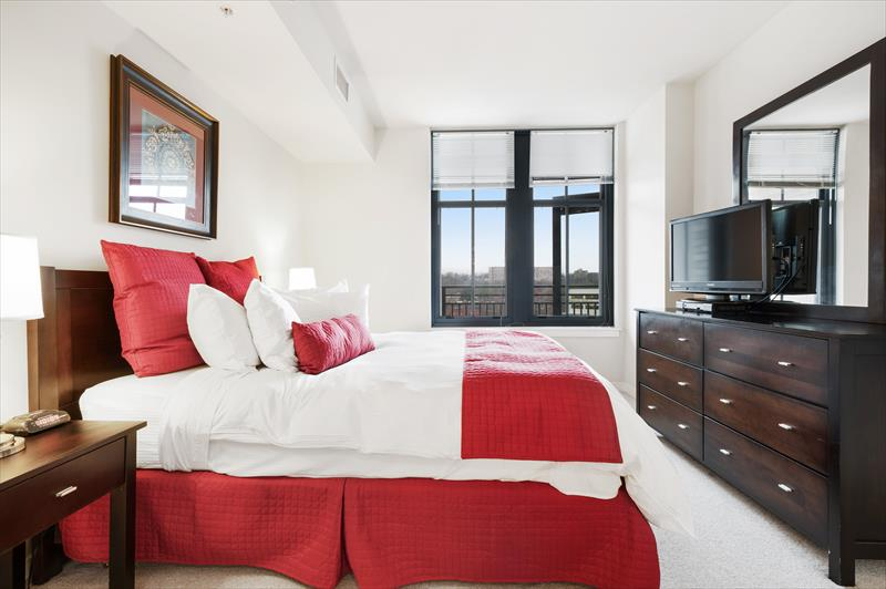 Bedroom at Gramercy Serviced Apartments