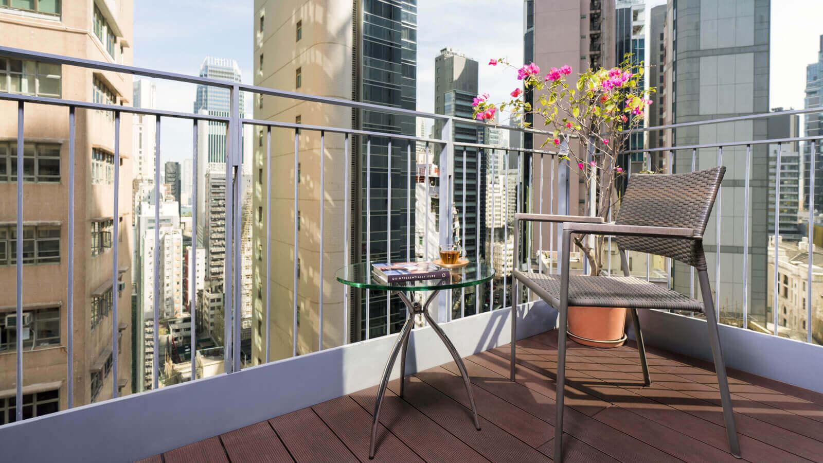 Balcony at Hollywood Serviced Apartments