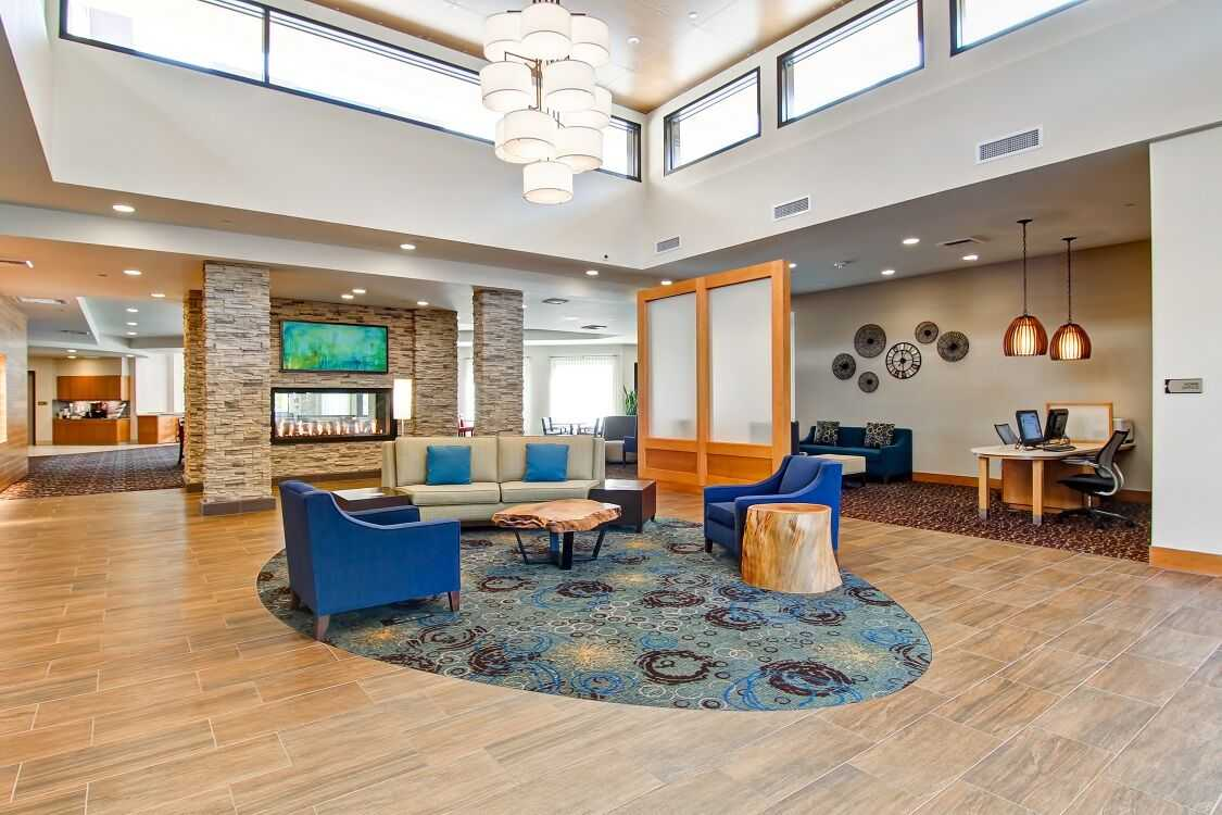 Lobby at Homewood Suites Seattly Issaquah