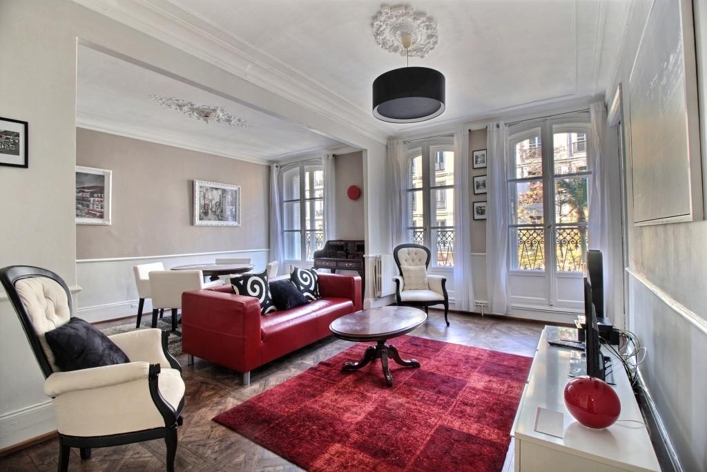 Living room at Lerivoli Apartment