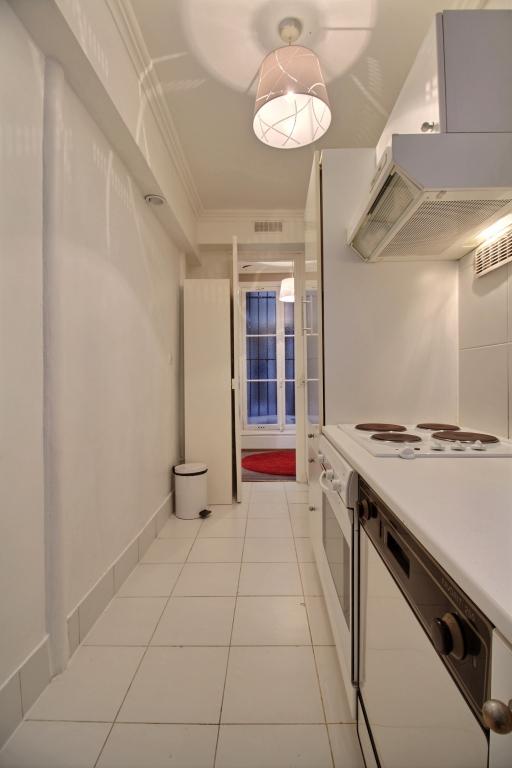 Kitchen area at Lerivoli Apartment