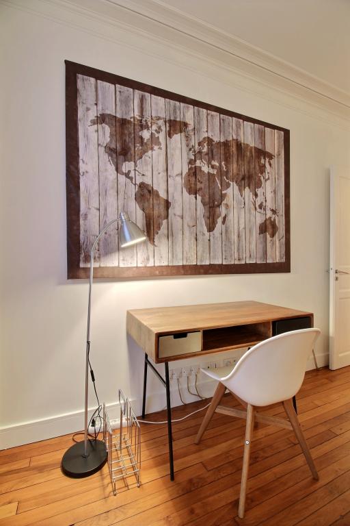 Desk at Lebaron Apartment