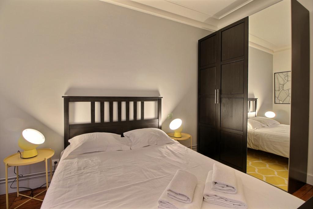 Bedroom at Lebaron Apartment
