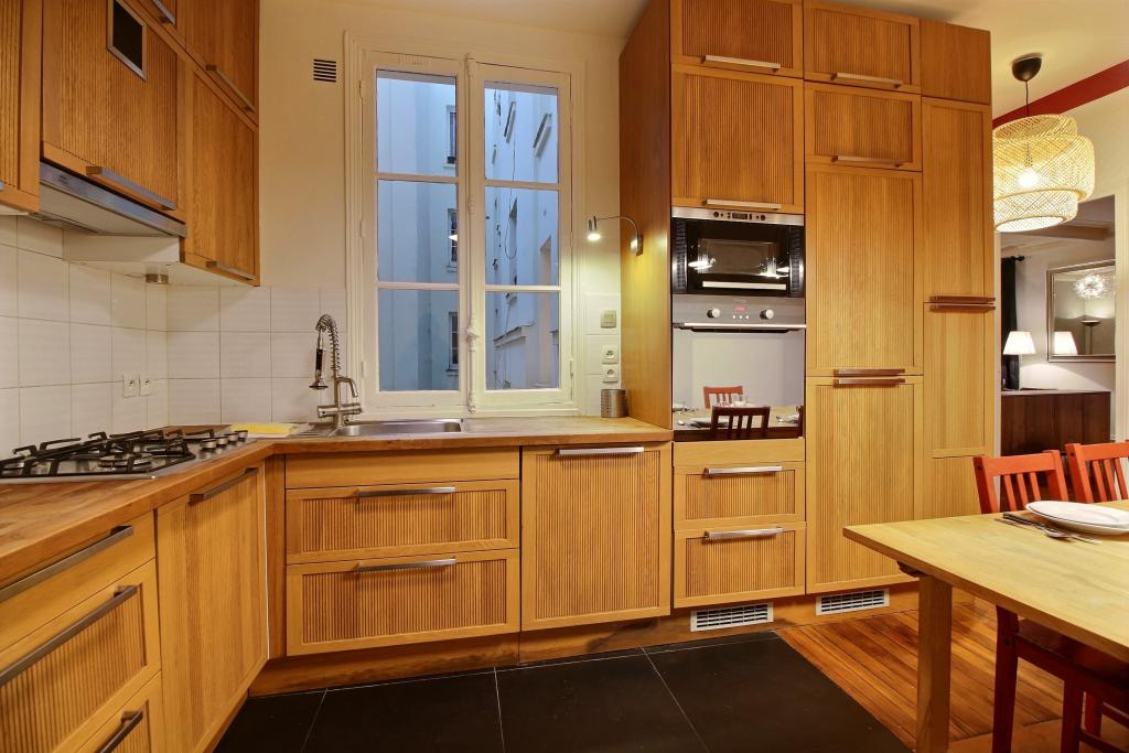 Kitchen at Lebaron Apartment