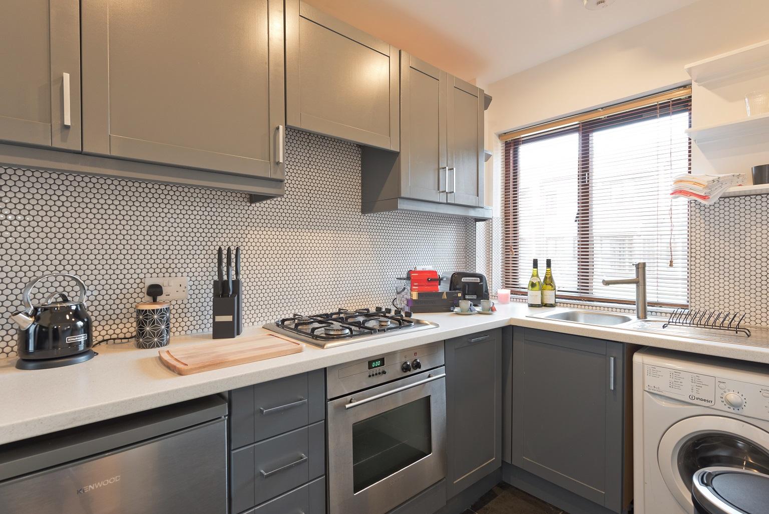 Kitchen at Lansdowne House Apartment