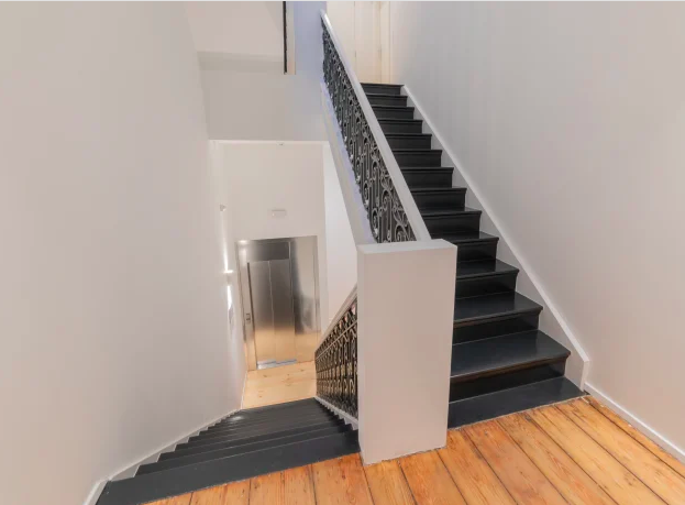 Staircase at Luxembourg Apartment