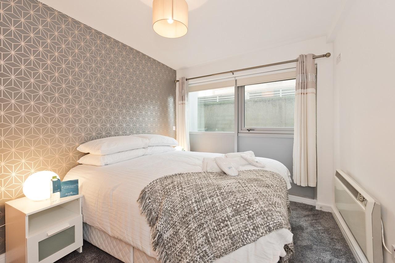 Bedroom at Crown Temple Bar Apartment, Centre, Dublin