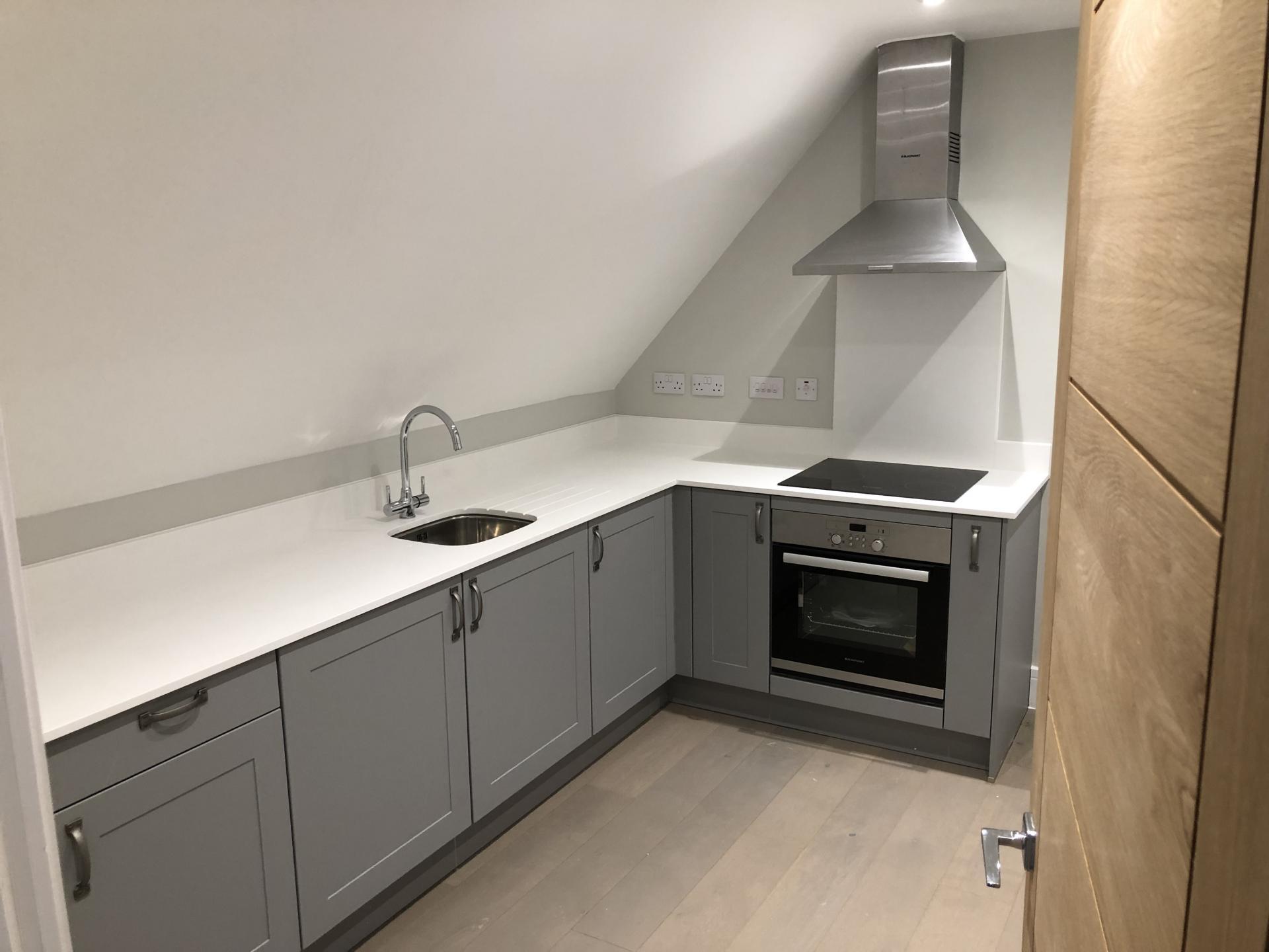 Kitchen at Wilson Heights Apartment