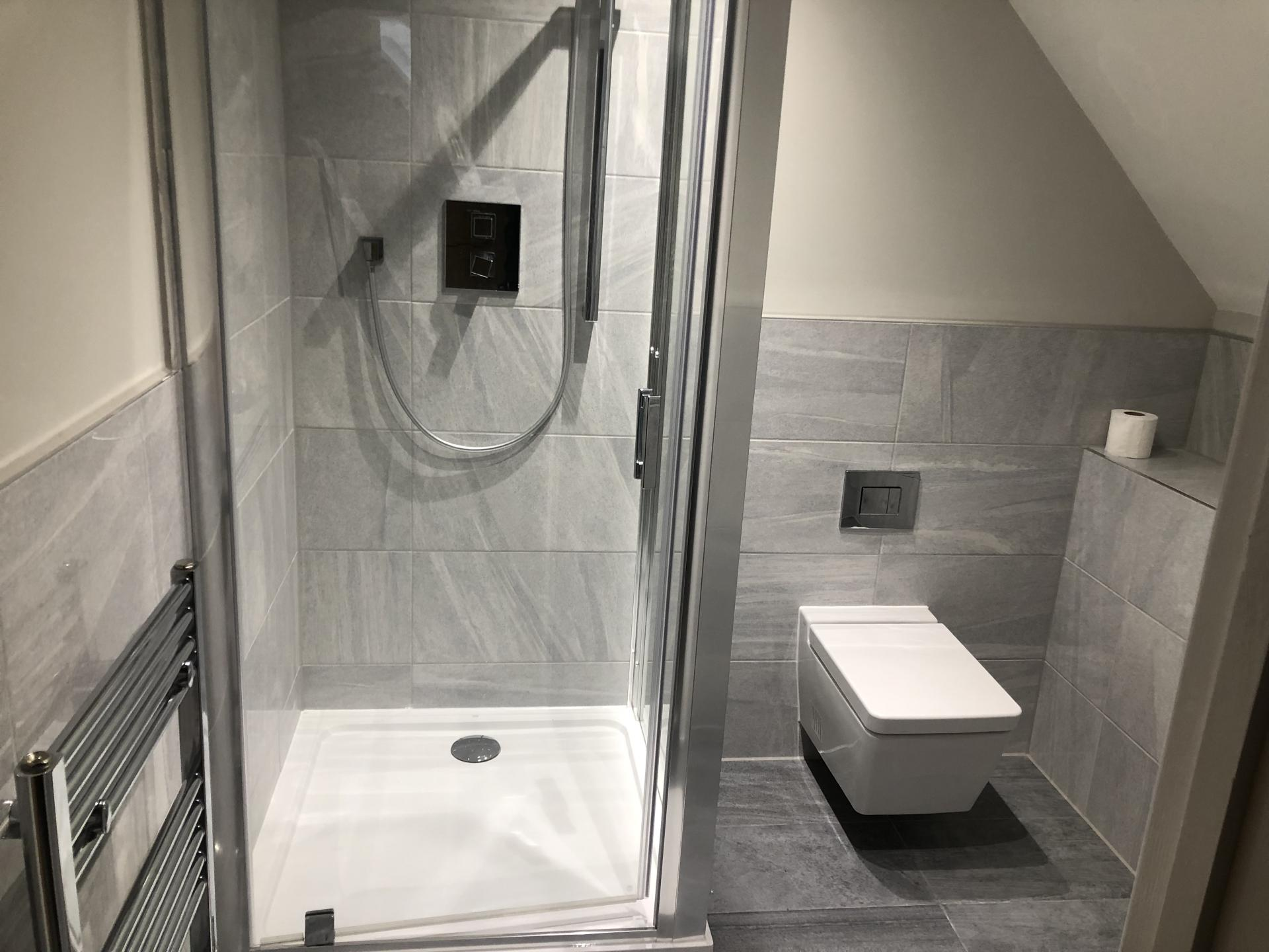Shower at Wilson Heights Apartment