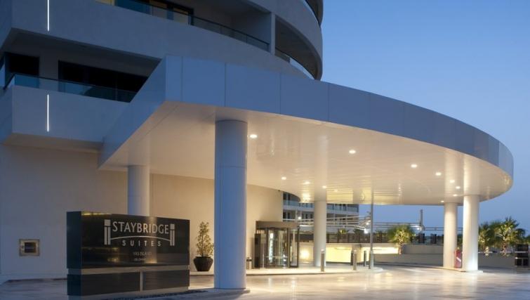 Attractive exterior of Staybridge Suites Abu Dhabi - Yas Island