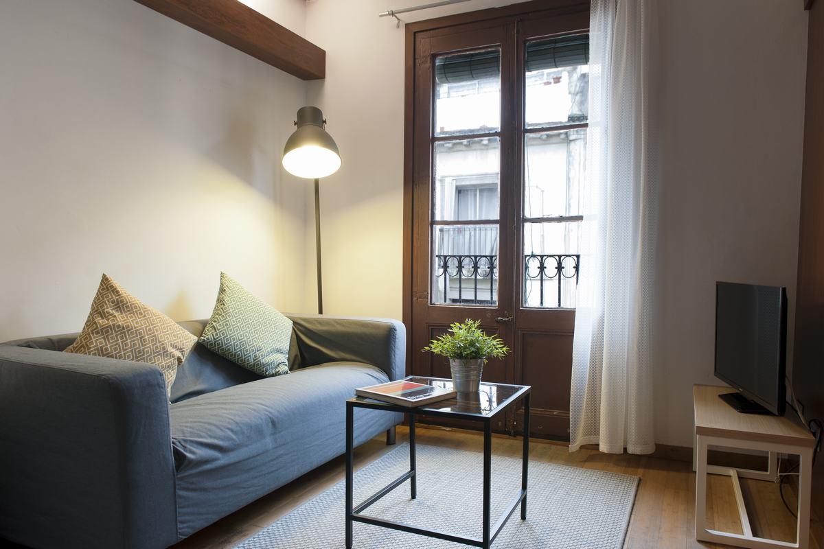 Living room at MH Apartments Princesa