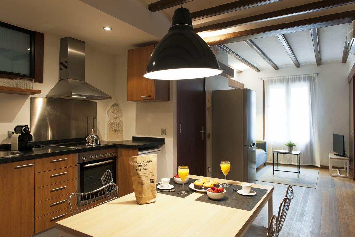 Kitchen at MH Apartments Princesa