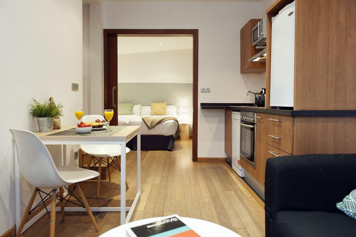 Modern kitchen at MH Apartments Princesa
