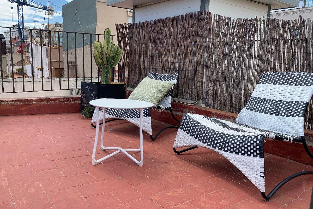 Terrace at MH Apartments Princesa