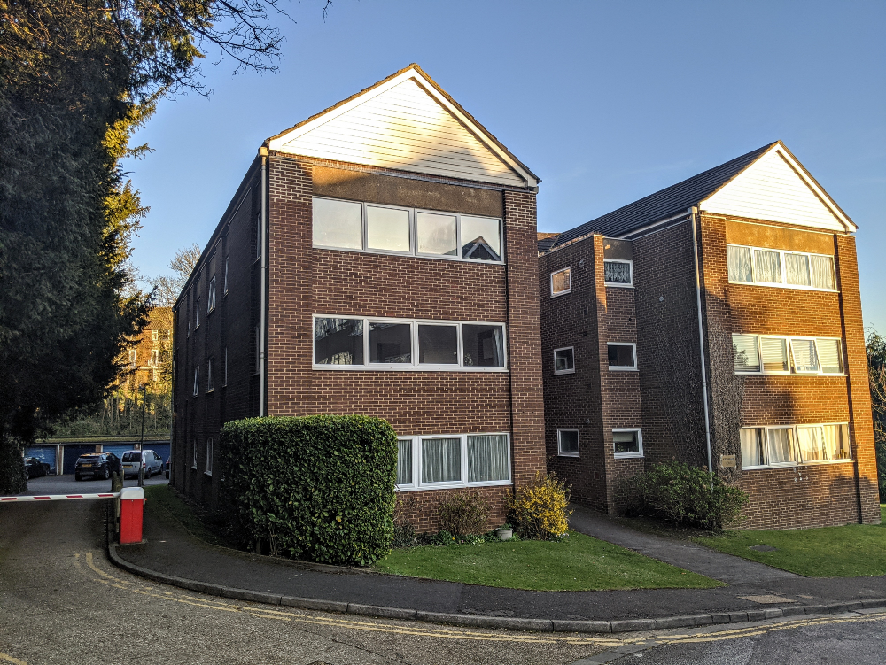 Exterior of Benjamin House Apartment, Centre, High Wycombe