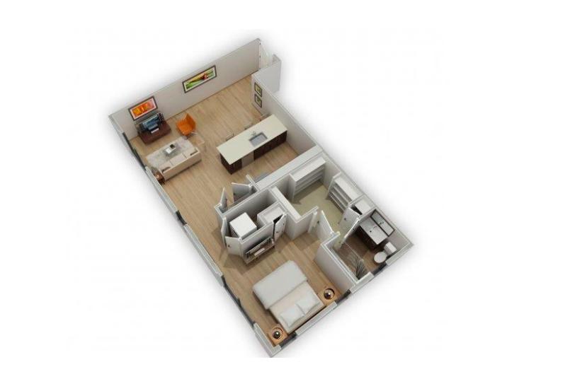Floorplan 2 at Biltmore at Camelback Apartments