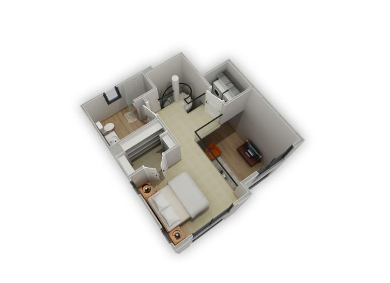 Floorplan 4 at Biltmore at Camelback Apartments