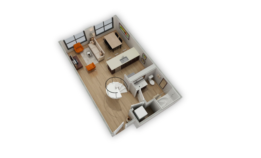 Floorplan 6 at Biltmore at Camelback Apartments