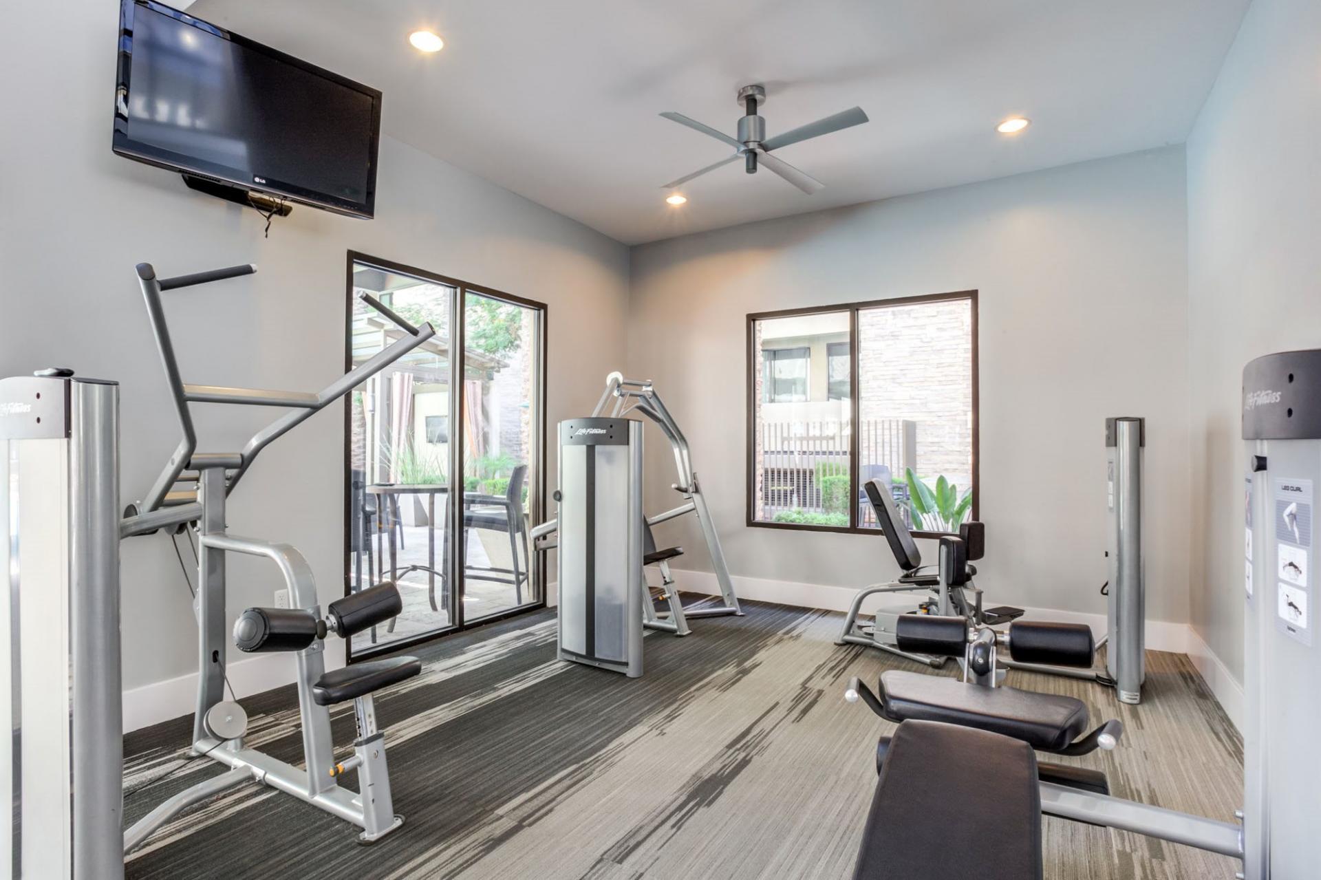Gym at Biltmore at Camelback Apartments