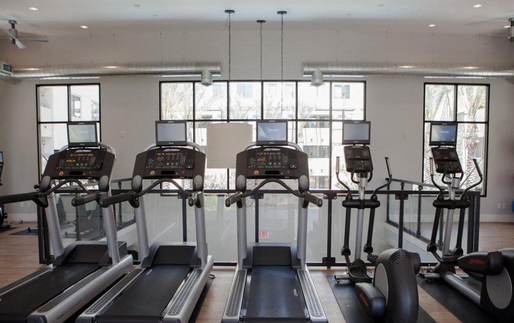 Cardio machines at Biltmore at Camelback Apartments