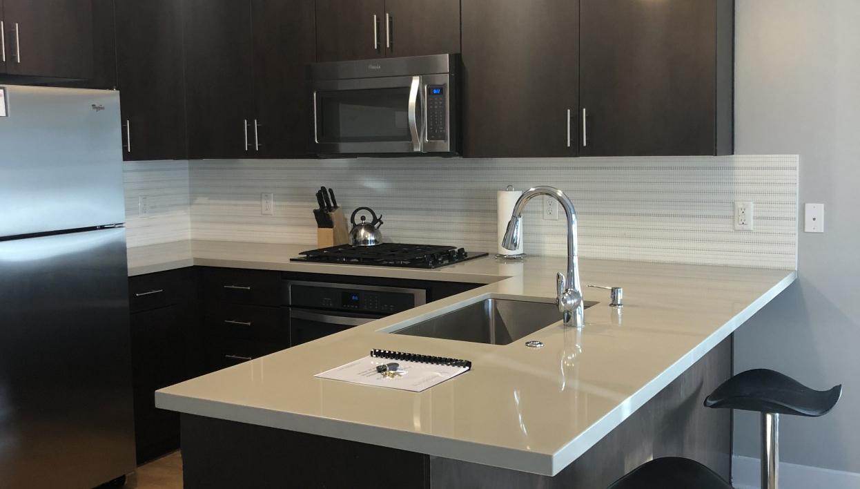 Kitchen at Biltmore at Camelback Apartments