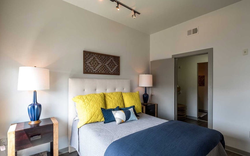 Bedroom at Velocity on The Gulch Apartment