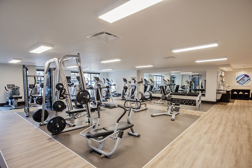 Fitness Centre at Broadstone Saxton Apartment