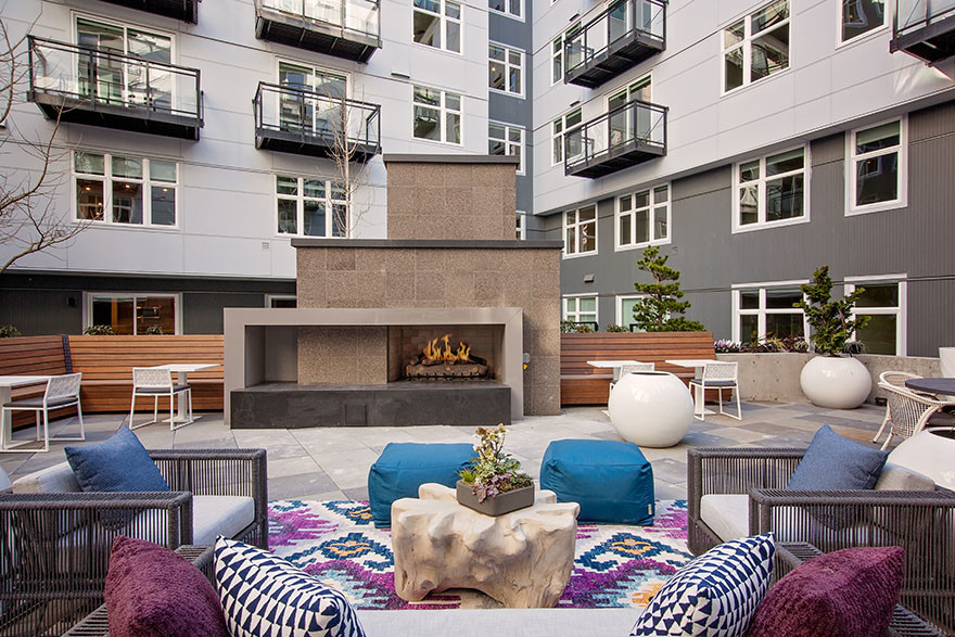 Terrace at Broadstone Saxton Apartment