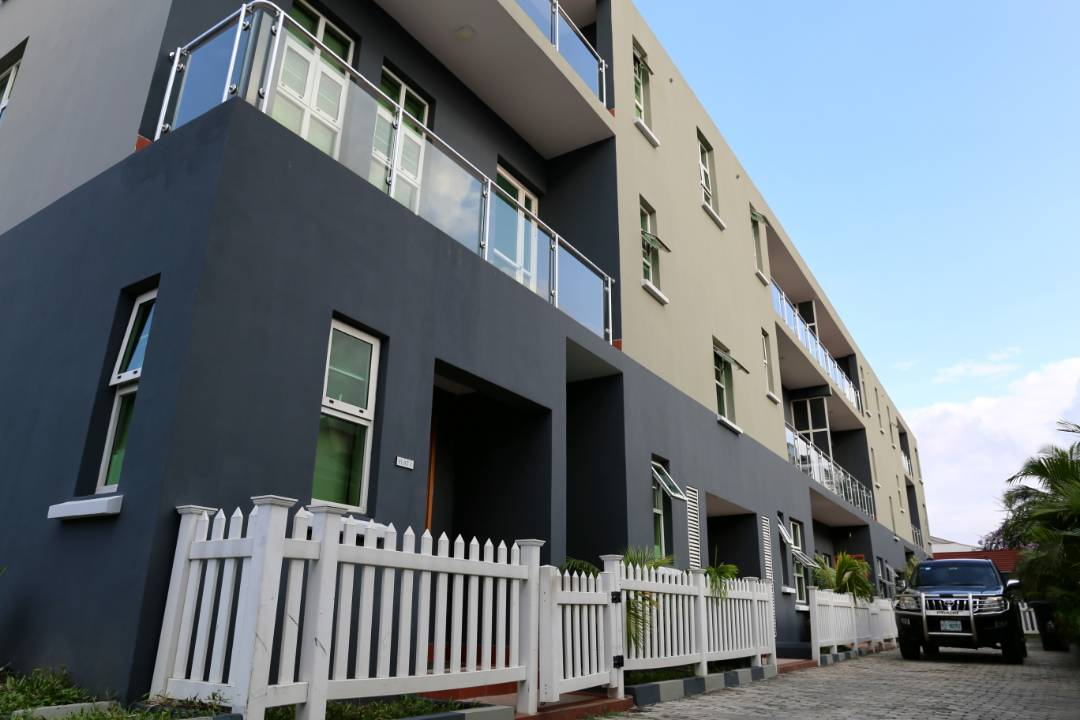 Exterior at Extension Apartments