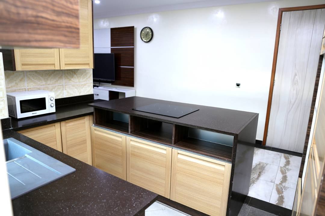 Kitchen at Extension Apartments B