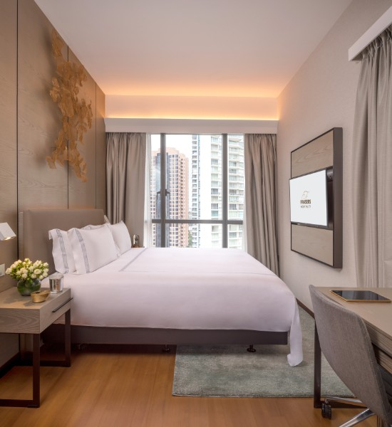 Bedroom at Fraser Residence Orchard Apartments, Singapore