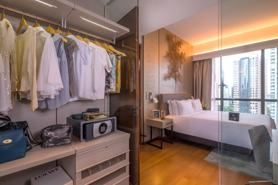 Two bed at Fraser Residence Orchard Apartments, Singapore