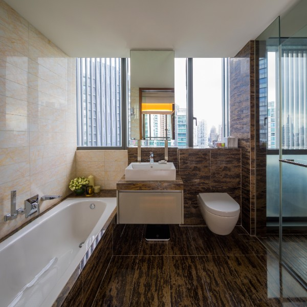 Bathroom at Fraser Residence Orchard Apartments, Singapore