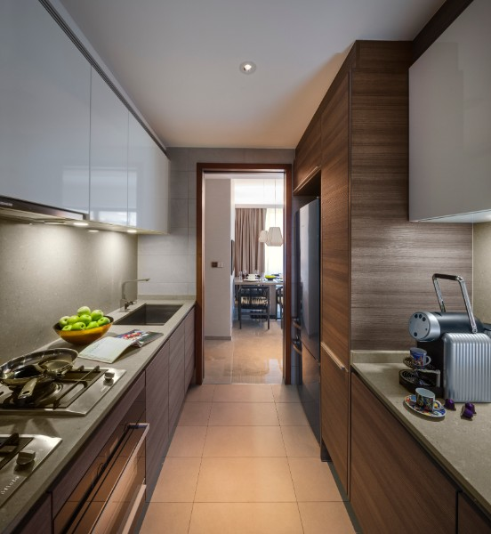 Kitchen at Fraser Residence Orchard Apartments, Singapore