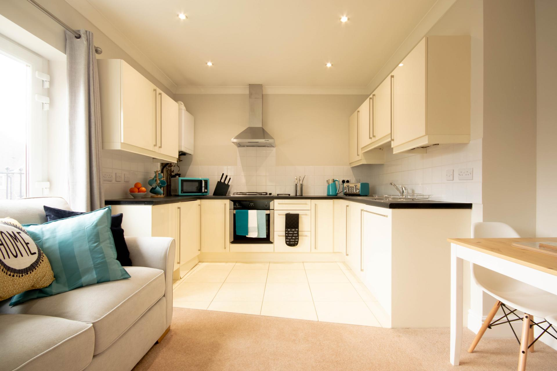 Kitchen at Spinney Apartment